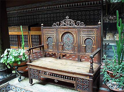 Casa do Alentejo : mobilier décoré