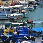 Bateaux dans le port vénitien
