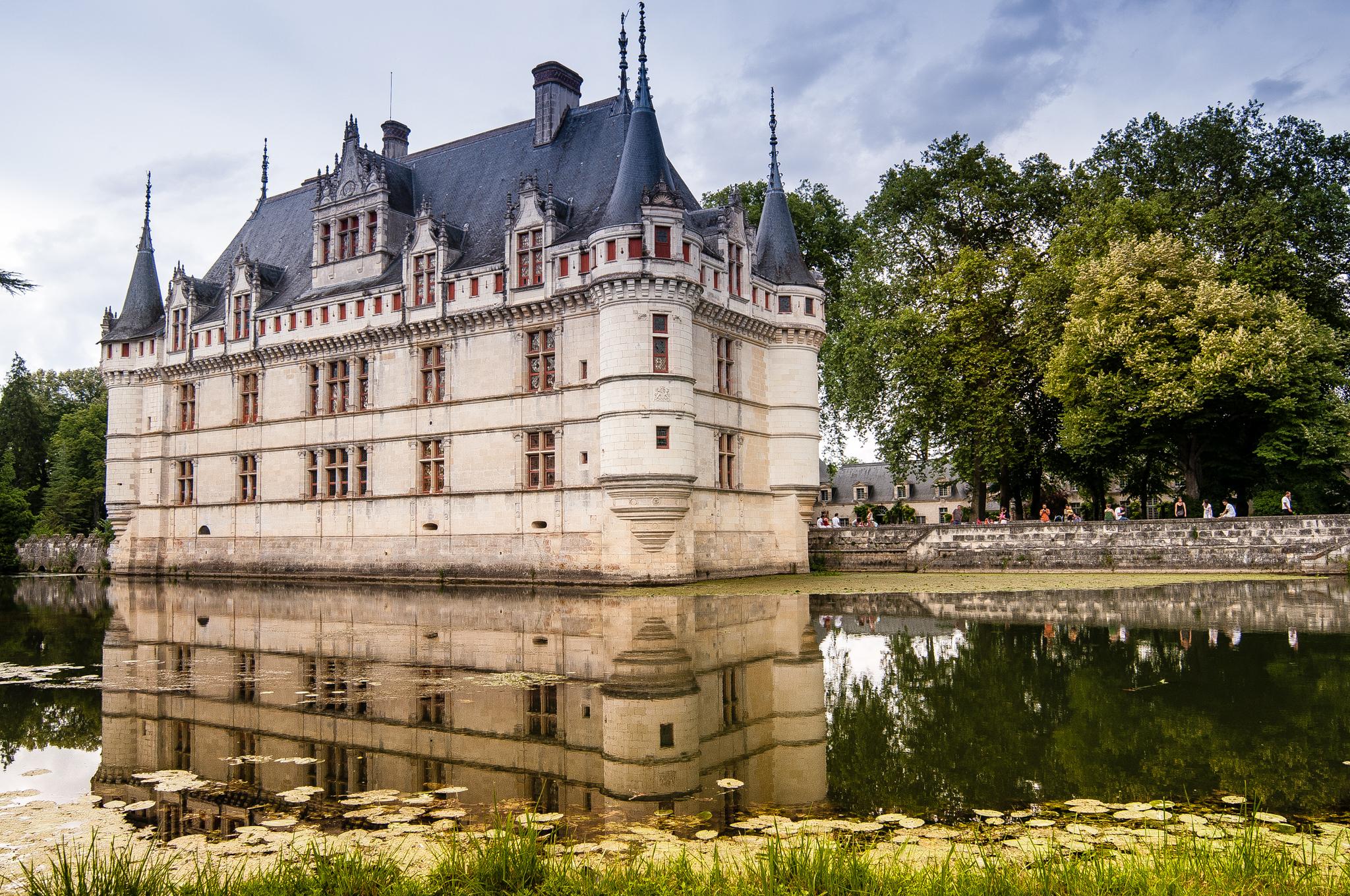Château d'Azay-le-Rideau - Châteaux de la Loire