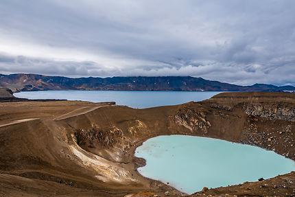 Lac Viti à Askja, Islande