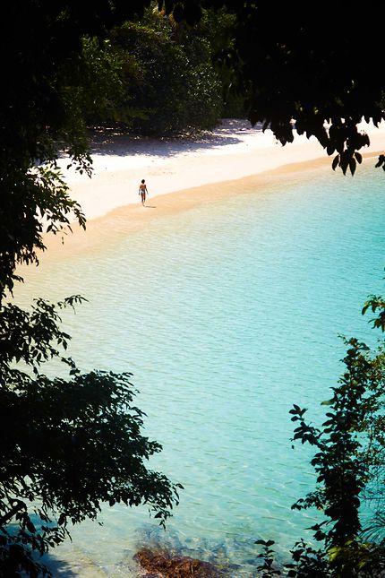 L'île de Kapas en Malaisie
