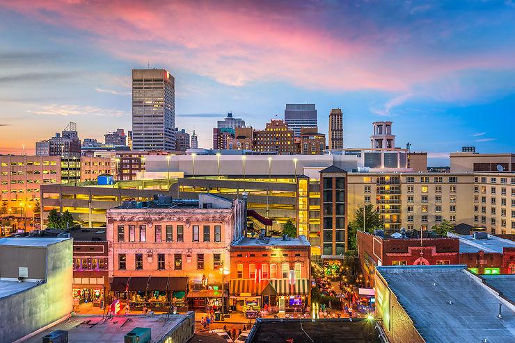 Memphis et Nashville (Tennessee)