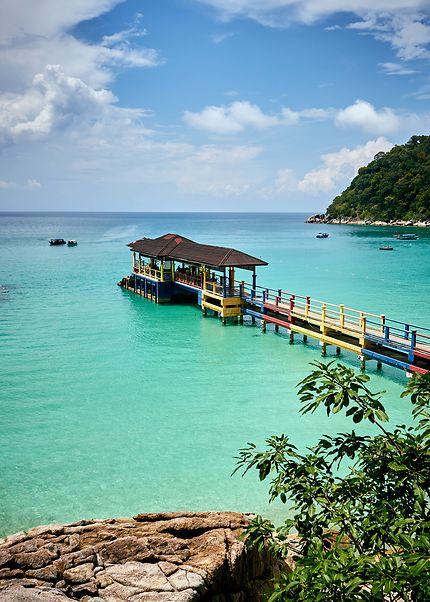 L'île de Perhentian, Besar, Malaisie