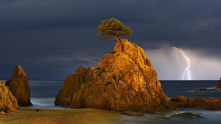 Rayon de lumière sur l'horizon, Espagne