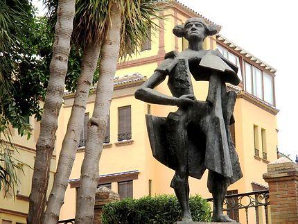 Statue du torero Juan Belmonte