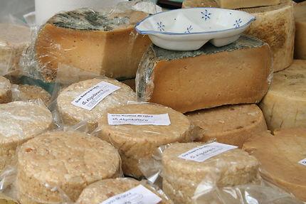 Fromages de chèvre à Valence