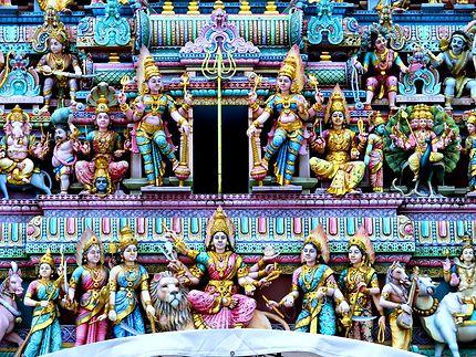 Entrée du temple sur Serangoon Road