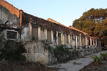 Ruines à Ilha do Ibo