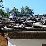 Toit de ferme traditionnelle