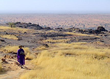 Sur la falaise de Bandiagara