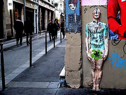 art africain rue quincampoix
