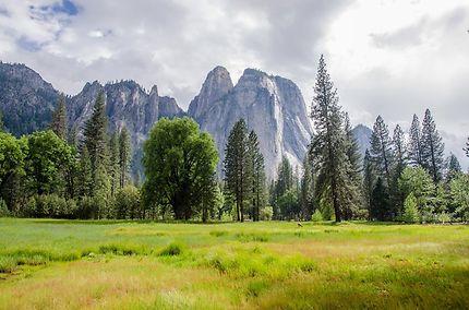 Randonnée au coeur du parc national Yosemite