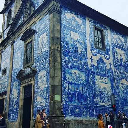 Le bleu des azulejos