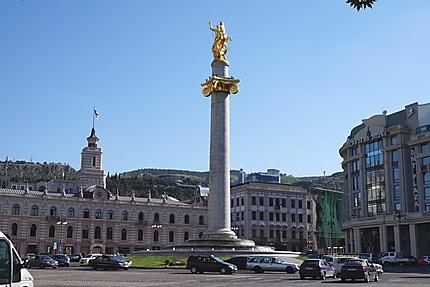 Place de la Liberté à Tbilissi