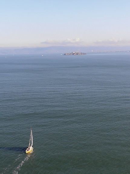 Alcatraz et la baie de San Francisco