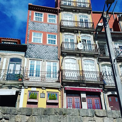 La Ribeira à Porto