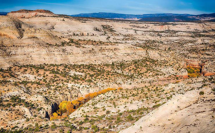 Route 12, dans les grands espaces de l'Utah