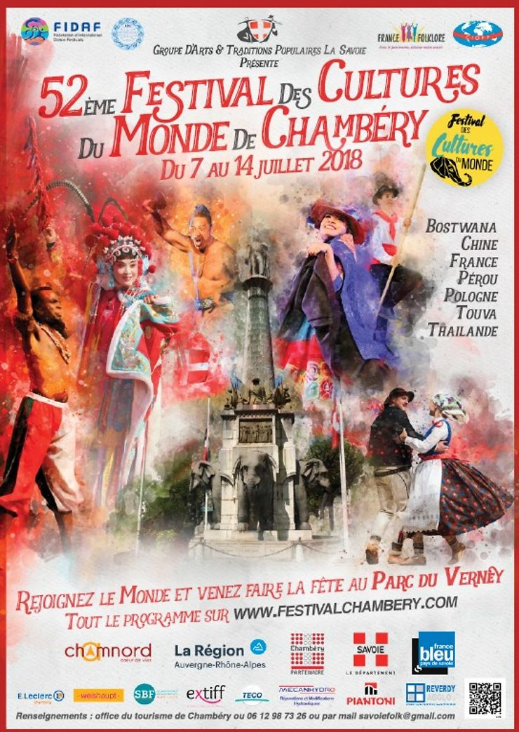 Festival des cultures du monde à Chambéry