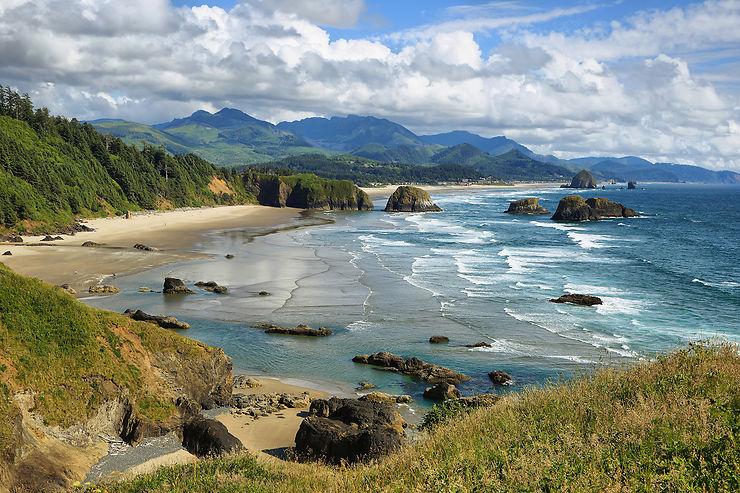 Highway 101 : une corniche sur le Pacifique