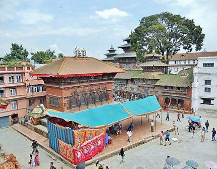 Durbar Square à Kathmandu au Népal