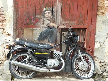 Street-art à George Town, Malaisie