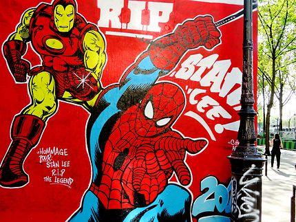 Street art à Paris (Citra-Arm Crew)