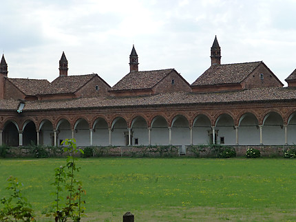Cloitre Certosa di Pavia