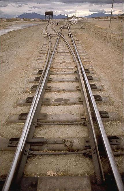 Chemin de fer vers Chili