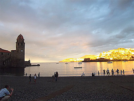 Illumination à Collioure