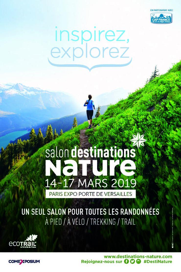 Destinations Nature, salon des nouvelles randonnées à la Porte de Versailles
