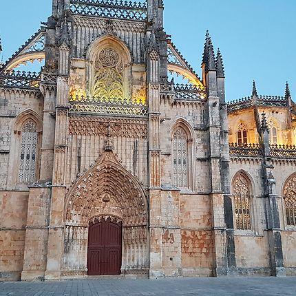 Monastère de Batalha au crépuscule