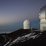 Au sommet du Mauna Kea