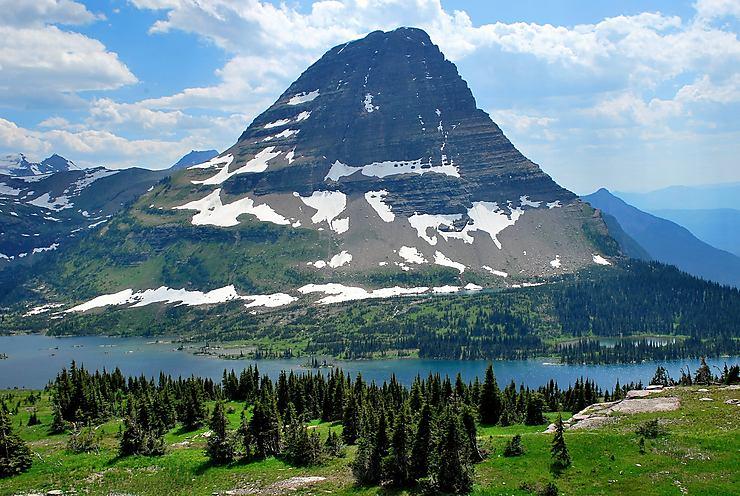 Hidden Lake, Glacier National Park, États-Unis