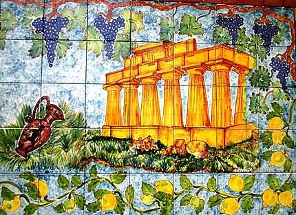 Céramique (temple E consacré à Héra)