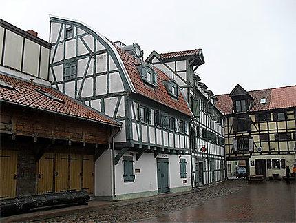 Belles maisons à colombages