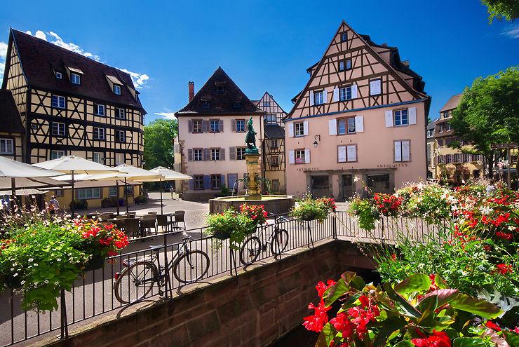 Colmar, la belle d'Alsace, et les villages de la Route des Vins