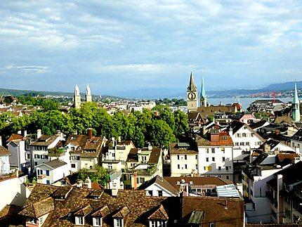 Panorama de Zürich
