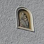 Madonne sur une façade