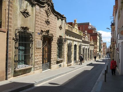 Charmante rue Verdi à Barcelone