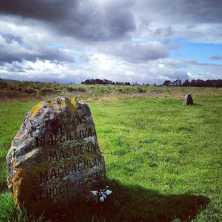 Battlefield of Culloden, Écosse