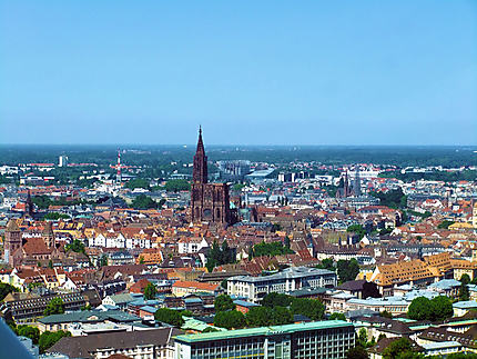 Toits du vieux Strasbourg, Cathédrale, Parlement