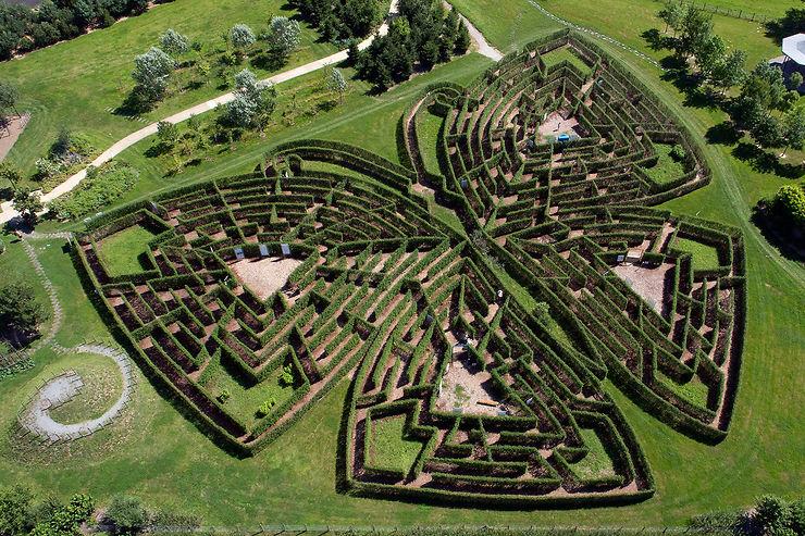 Un labyrinthe sur les traces de Colette