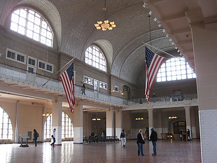 Hall de l'Immigration à Ellis Island