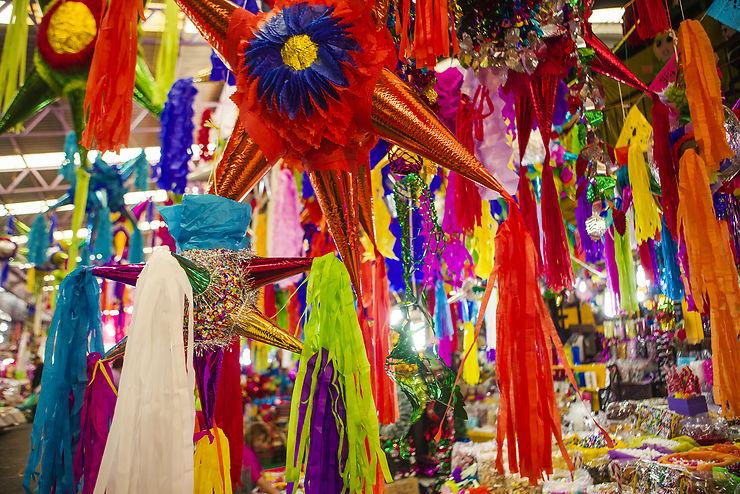 Posadas au Mexique : ciel, ma piñata !