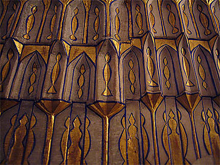 Enluminure tombeau de Tamerlan