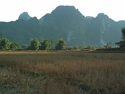 Paysages laotiens