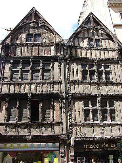 Caen maison colombages