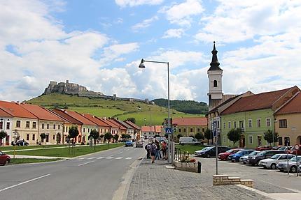 En route vers le château de Spiš