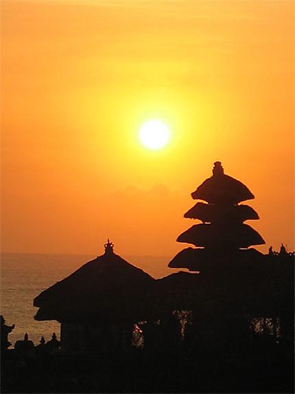 Sunset au Tanah Lot
