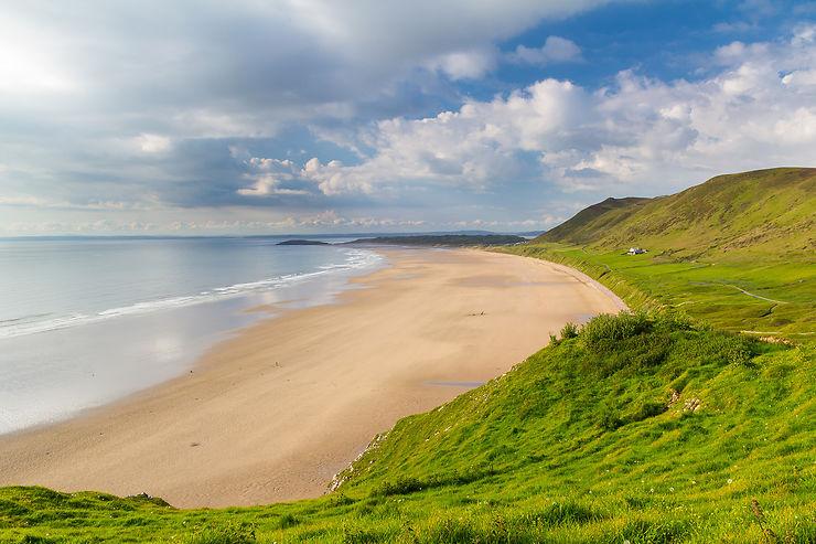 Rhossili Bay, Pembrokeshire – Pays de Galles